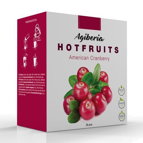 Agiberia Hotfruits American Cranberry 20 g