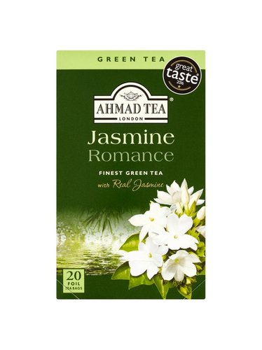 Ahmad Tea Green Jasmin 20 x 2 g