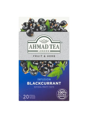 Ahmad Tea Blackcurrant 20 x 1,8 g