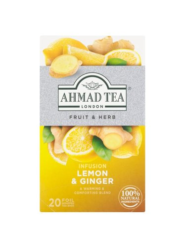 Ahmad Tea Lemon&Ginger 20 x 2 g