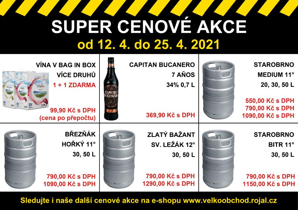 Super cenové akce v prodejnách Cash & Carry Rojal